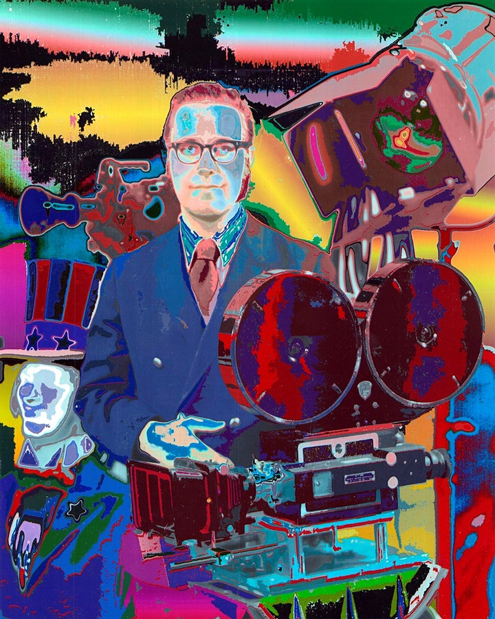 Groovy Movies art exhibit opening day (Friday, Nov 5) tickets image