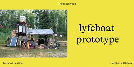 Townhall Sessions: lyfeboat prototype tickets