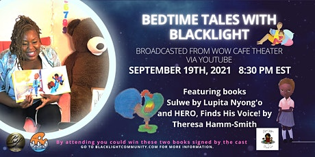 Bedtime Tales With BlackLight tickets