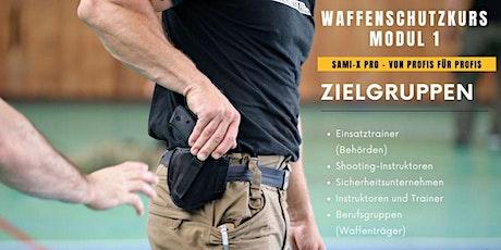 Waffenschutz Tickets
