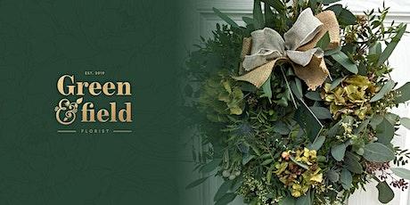 Luxury Christmas Wreath Making Workshop @ Honey Pottery, Horsforth tickets