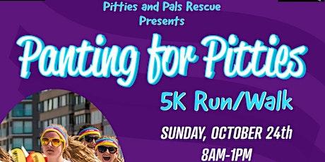 Panting For Pitties 5K Walk / Run tickets