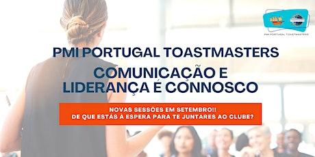 PMI Portugal Toastmasters | Sessão Híbrida ingressos