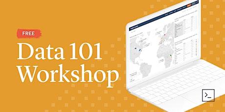 Data 101 Workshop (Live Online) tickets