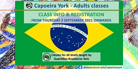 Capoeira Adult Class [indoors] @Melbourne Centre  - from 2 September 2021 tickets