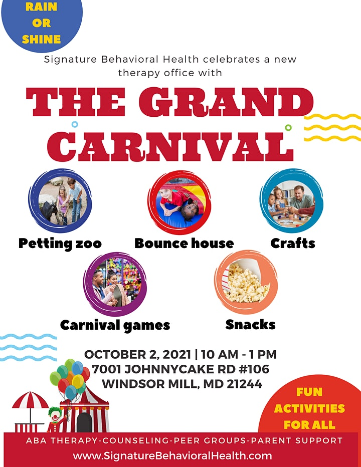 Grand Opening: Family Day in Baltimore County! image