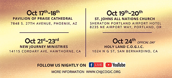 CNJJ Holy Convocation Saturday image