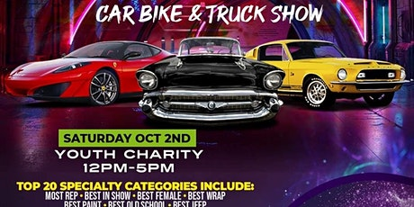 Destined for Greatness Outreach Youth Center Car Truck & Bike Youth Charity tickets