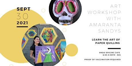 Art Workshop with Amaranta Sandys tickets