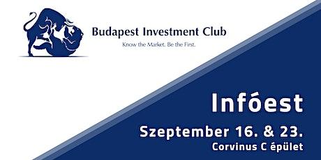 Budapest Investment Club Infóest tickets