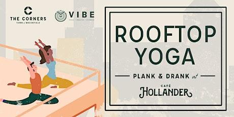 Rooftop Yoga at Café Hollander tickets