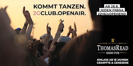 Thomas Read 2G Open Air 17/09 Tickets