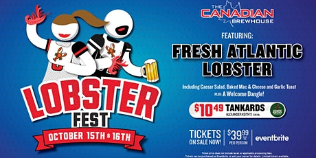 Lobster Fest 2021 (Red Deer) - Saturday tickets