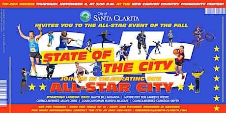 2021 City of Santa Clarita State of the City tickets