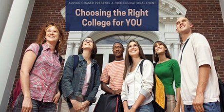 Choosing the Right College for You tickets