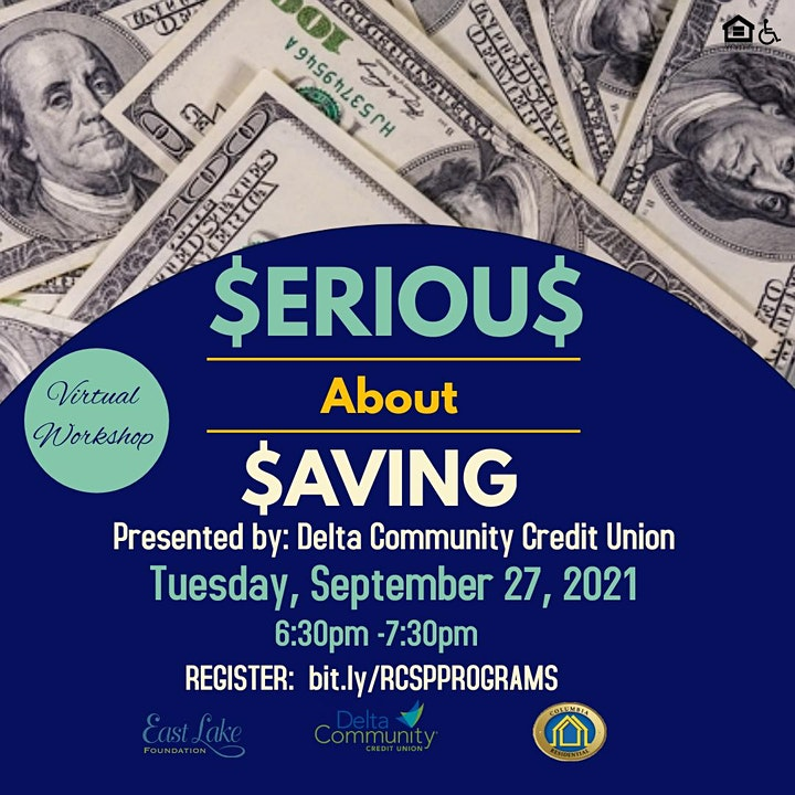 Serious About Saving: Presented by Delta Community Credit Union image