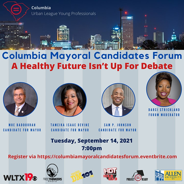 Columbia Mayoral Candidates Forum: A Healthy Future Isn't Up For Debate! image
