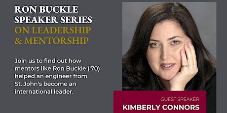 Ron Buckle Speaker Series on Leadership and Mentorship- In Person and Zoom tickets