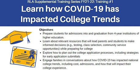 RLA Training #1: Learn How COVID-19 Has Impacted College Trends tickets