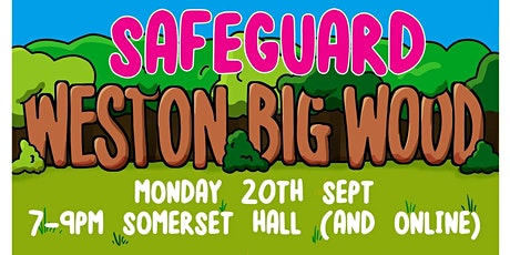 Safeguard Weston Big Wood tickets