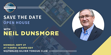 Save the Date with Neil Dunsmore tickets