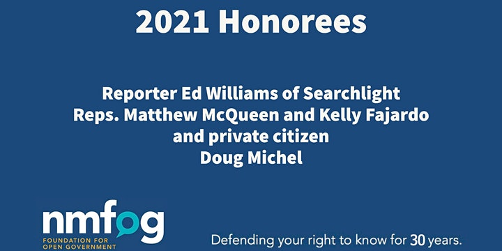 2021 William S. Dixon Awards featuring Marty Baron image