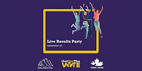 Live Results Party tickets