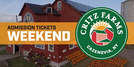 Critz Farms Weekend Admission tickets
