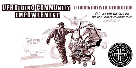 Upholding Community Empowerment - A Living Artistic Revolution tickets