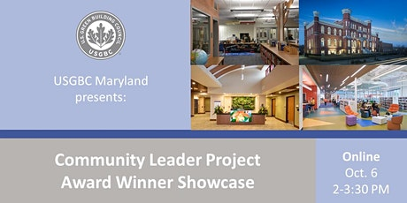 USGBC Maryland Presents: Award Winners Project Showcase tickets