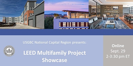 USGBC NCR: LEED Multifamily Project Showcase tickets