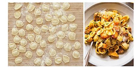 ALL KIDS COOKING CLASS: Handmade Orecchiette Pasta in Brown Butter Sauce tickets