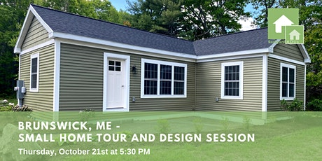 Brunswick, ME: Small Home Tour and  Design Session tickets