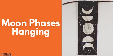 Adult Craft Kit - Moon Phases Hanging tickets