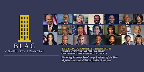 The BLAC Community Financial & Power Networking EMPLOY MORE Conference tickets