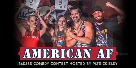 """The Riot Standup Comedy Show presents """"American AF 4"""" with Patrick Eady tickets"""