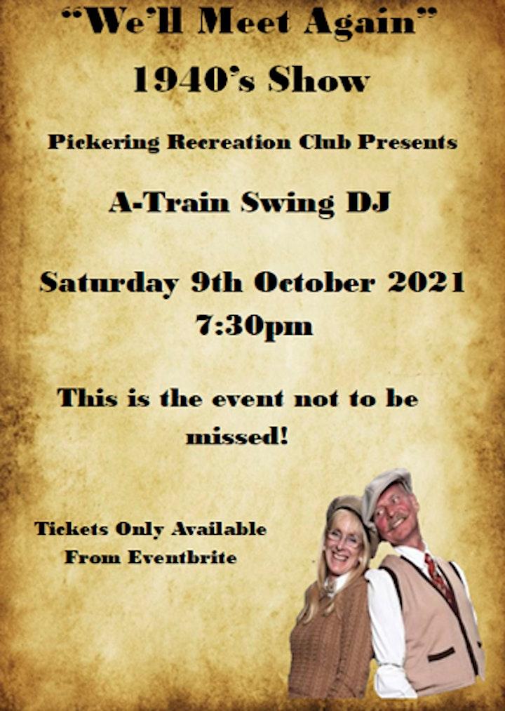 Pickering War Weekend Dance image
