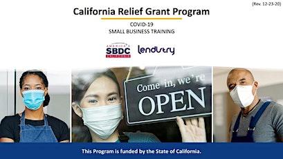 CA Relief Grant Español and English (Pre-grabado) entradas