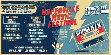 Naperville Music Festival with Kool & the Gang, Village People, Pointer Sis tickets