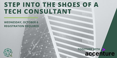 Step into the shoes of a Tech Consultant // Accenture tickets