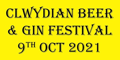 Clwydian Beer and Gin Festival tickets