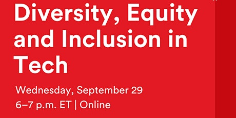 Diversity, Equity and Inclusion in Tech tickets