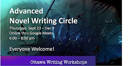 Advanced Novel Writing Circle - Online! tickets