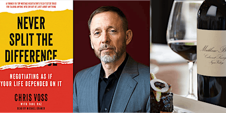 Happy Hour by Melier, featuring former FBI hostage negotiator Chris Voss tickets