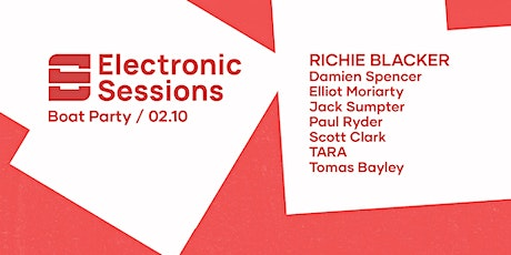 Electronic Sessions Boat Party - Richie Blacker tickets