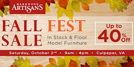 Fall Furniture Fest tickets