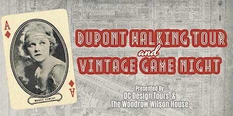 Presidential Playground  Walking Tour & Vintage Game Night tickets