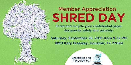 Community Shred Day tickets