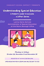 Part 2: Understanding Special Education, A Parent's Guide to Success tickets