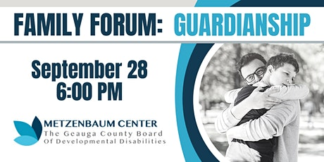 Geauga County Board of Developmental Disabilities Family Forum tickets